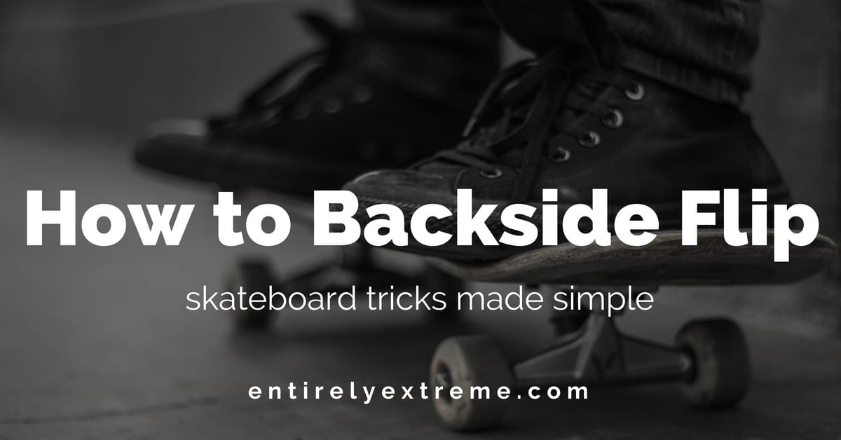 How to Backside Flip
