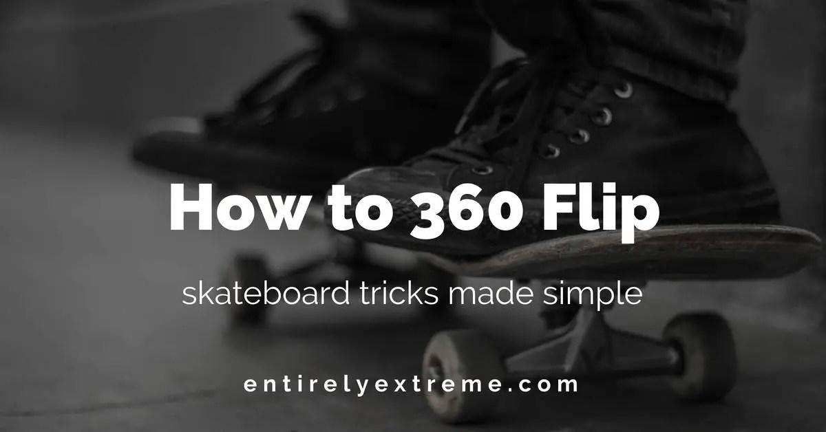 how to 360 flip