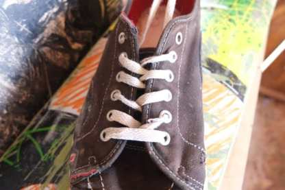 how to lace vans for skateboarding loose 7