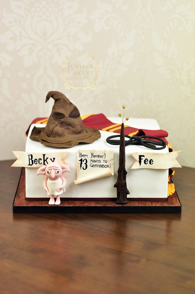 13Th Birthday Cakes Harry Potter Birthday Cake