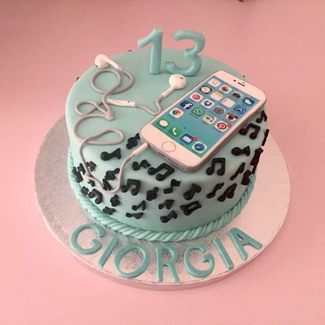 13Th Birthday Cakes Torte Per Bambini Cakes Cake Birthday Cake 13 Birthday Cake