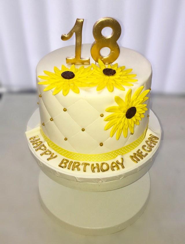 18 Birthday Cakes 18th Custom Birthday Cake Chefnessbakery