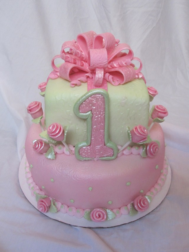 1St Birthday Cakes Girl 1st First Birthday Cake Girl 1st First Birthday Cake Girl Flickr