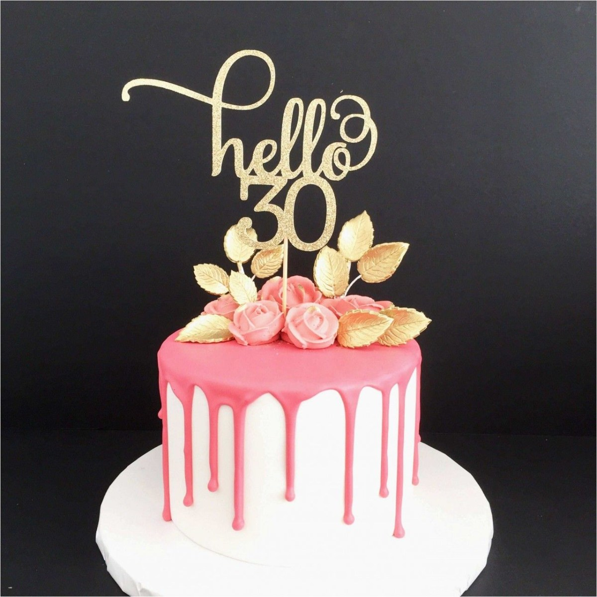 30Th Birthday Cake Ideas 30th Cakeybakey 30