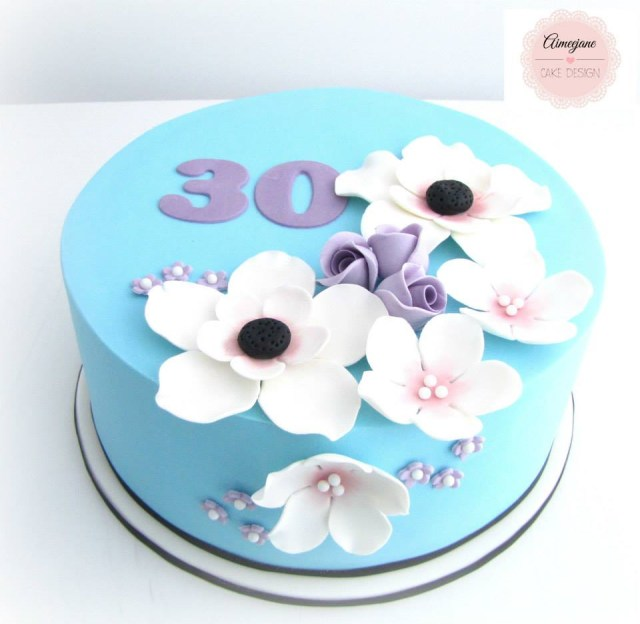 30Th Birthday Cake Ideas Creative 30th Birthday Cake Ideas Crafty Morning