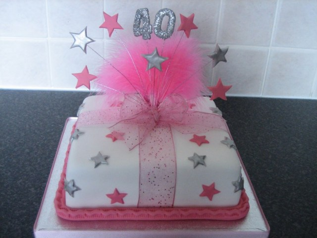 40Th Birthday Cakes For Her 40th Birthday Cakes For Women Wedding Academy Creative Planning