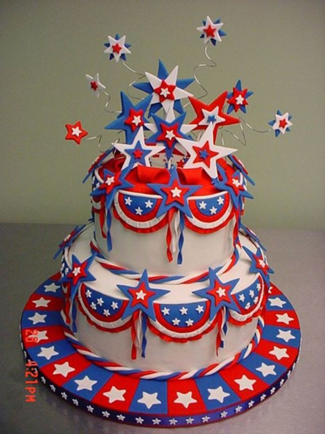 4Th Of July Birthday Cakes 4th Of July Cakecentral