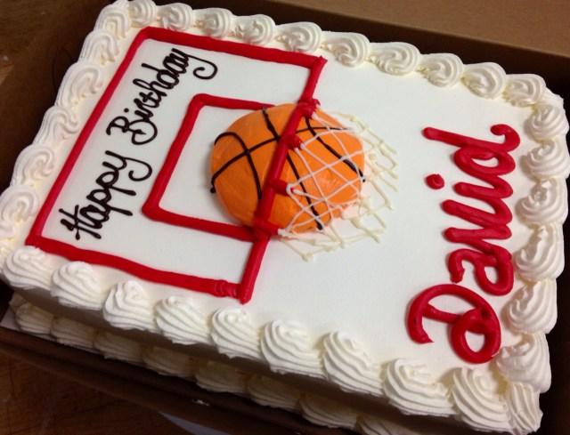 Basketball Birthday Cake Basketball Birthday Cake Cake Recipes Creative Cakes Home Made