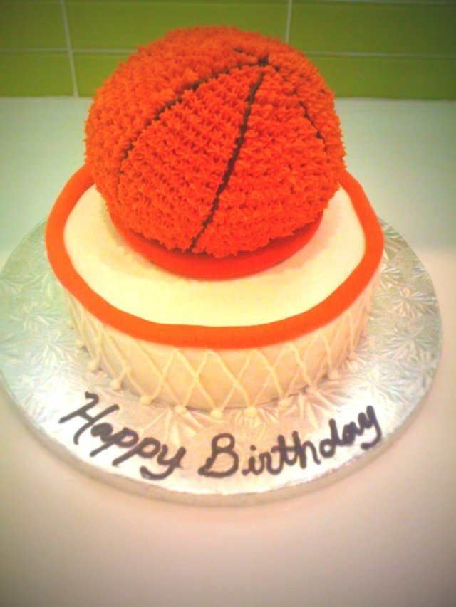 Basketball Birthday Cake Basketball Birthday Cake Cakecentral