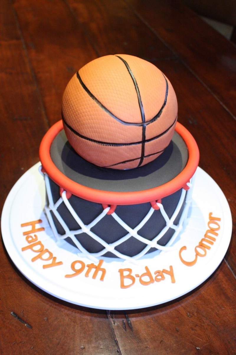 27+ Wonderful Picture of Basketball Birthday Cake