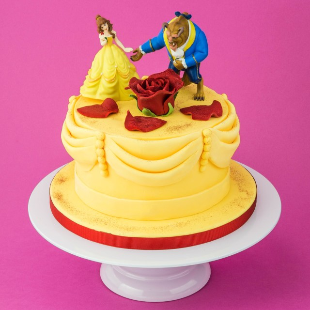 Belle Birthday Cake The Beauty And The Beast Cake Birthday Cake Pinterest Cake