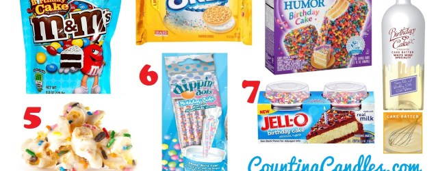 Birthday Cake Flavor What 7 Birthday Cake Flavored Food And Drinks Counting Candles