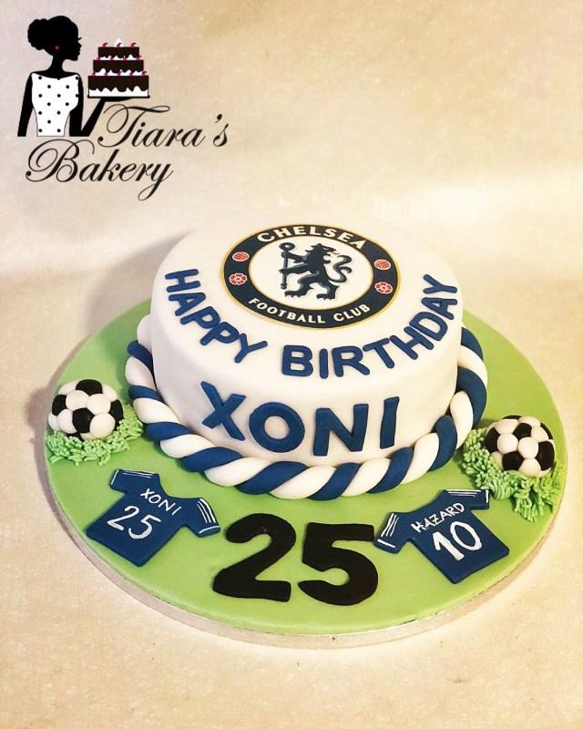 Birthday Cake For Man Soccer Club Chelsea Men