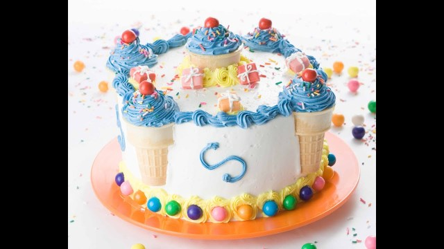 Birthday Cake Ideas For Girls Decorate A Birthday Cake In Minutes Youtube