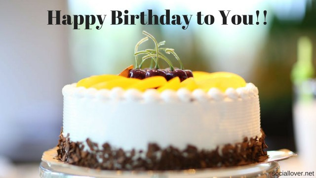 Happy Birthday Cake With Photo Free Download