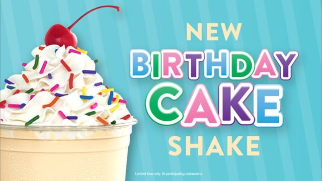 Birthday Cake Shake Jack In The Box Birthday Cake Shake Review Wreckless Eating Youtube
