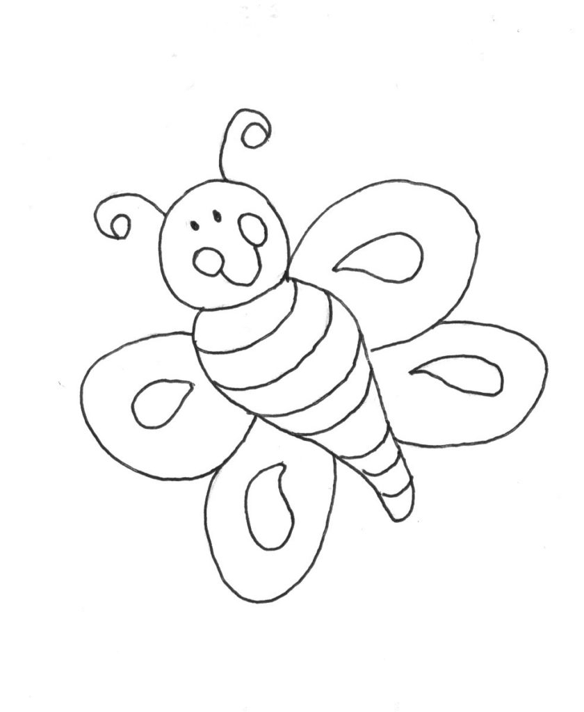 Blank Coloring Pages Coloring Pages Blank Coloring Pages For Kids Easy On The Eye