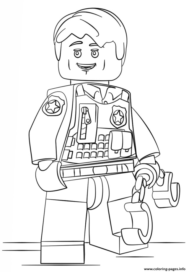 Blank Coloring Pages Print Lego Undercover City Coloring Pages Within Blank To Wuming