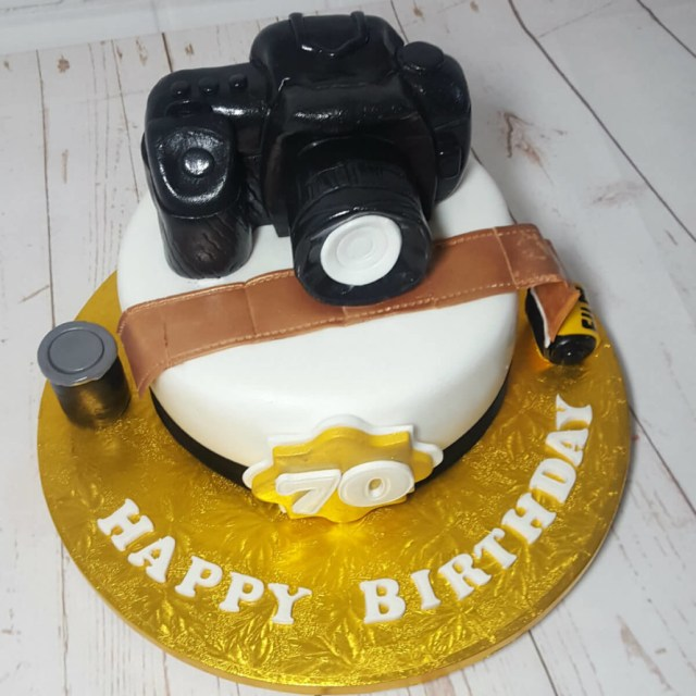 Camera Birthday Cake Hob Themed Birthday Cakes Quality Cake Company Tamworth