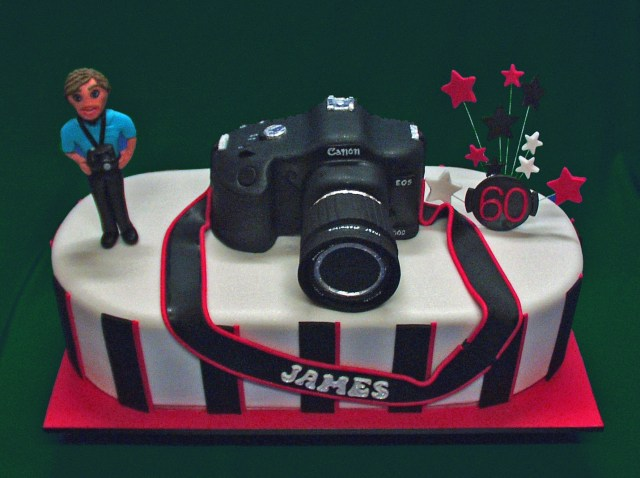 Camera Birthday Cake James Camera Birthday Cake Cakecentral