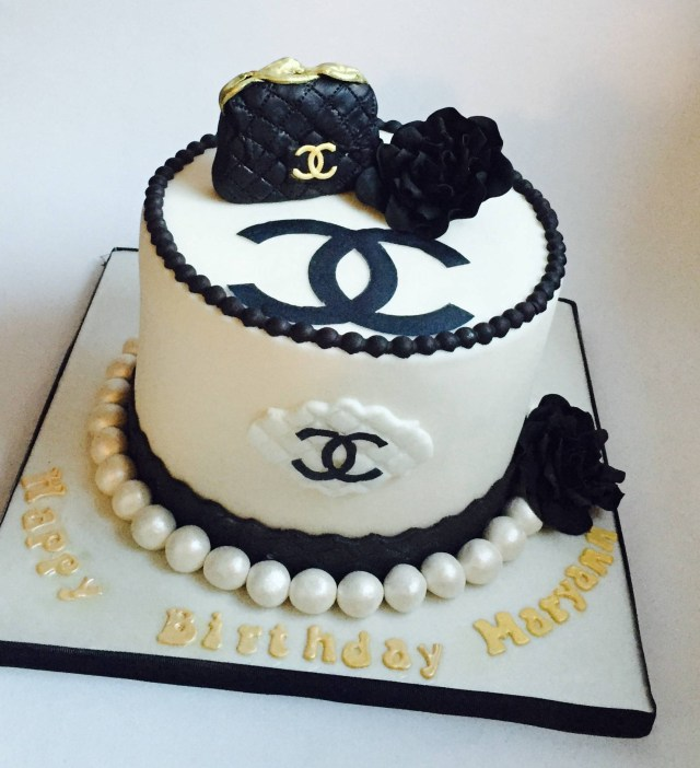 Chanel Birthday Cake Chanel Birthday Cakes