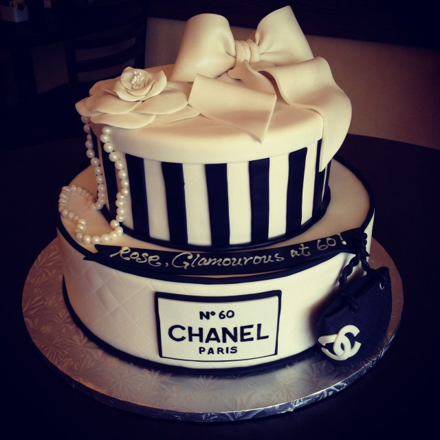Chanel Birthday Cake Chanel Couture Birthday Cake Wwwcafeattila Cafe Attila