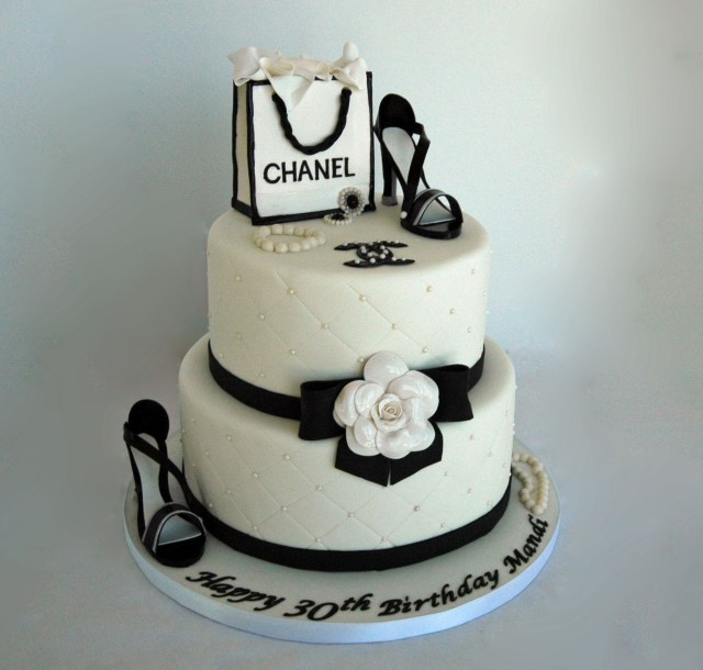 Chanel Birthday Cake Chanel Theme Fondant Birthday Cake 2kg Tf Cakes