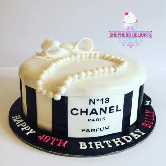 Chanel Birthday Cake Chanel Themed Birthday Cake Teenage Adult Birthday Cakes