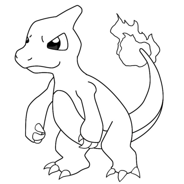 Charmander Coloring Page Special Charmander Coloring Pages 29676 In Page Projectelysium
