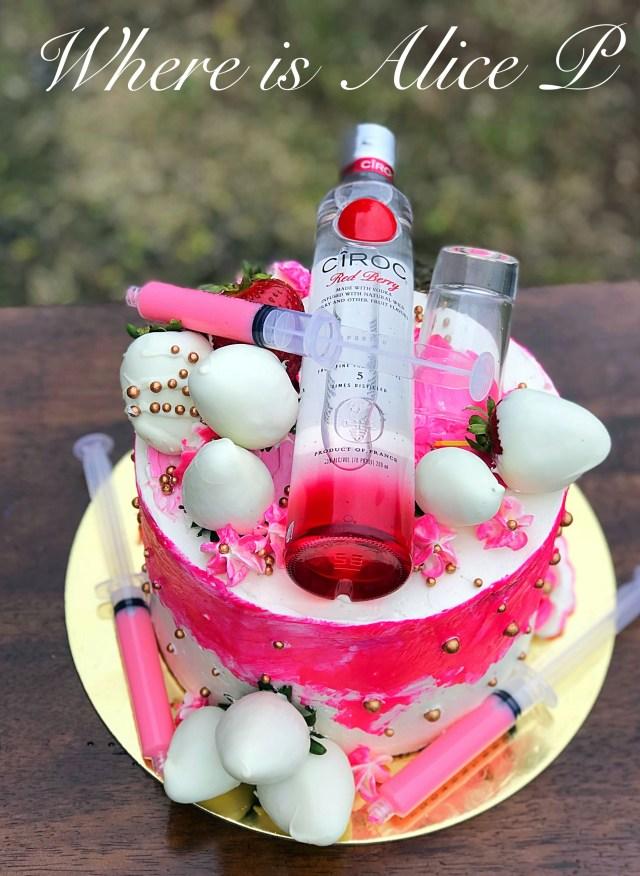 Cheesecake Birthday Cake Berry Ciroc Cheesecake Cake Make This Instead Pinterest Cake