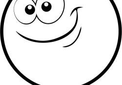 Circle Coloring Page Circle Cartoon Face Coloring Page Free Printable Coloring Pages