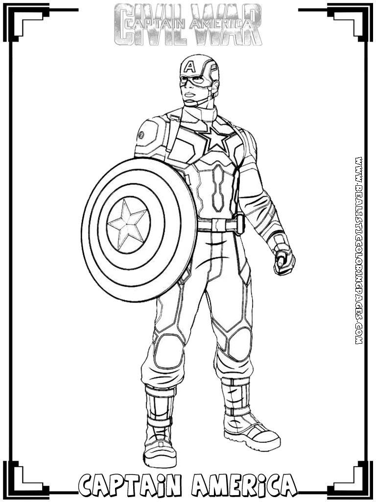 - Trends For Captain America Civil War Coloring Pages AnyOneForAnyaTeam