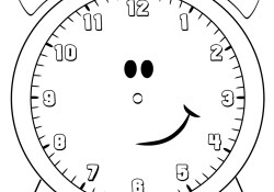 Clock Coloring Page Free Printable Clock Coloring Pages For Kids