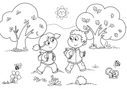 Coloring Pages For Kindergarten Free Printable Kindergarten Coloring Pages For Kids