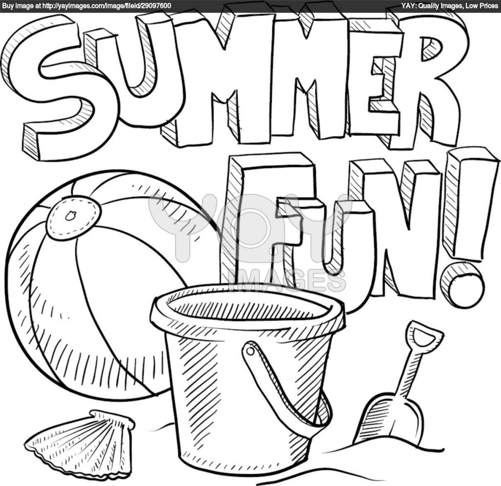 Coloring Pages Summer Coloring Page Free Printable Summer Coloring ...