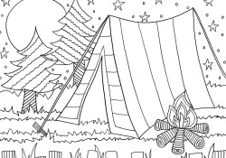 Coloring Pages Summer Summer Coloring Pages Doodle Art Alley