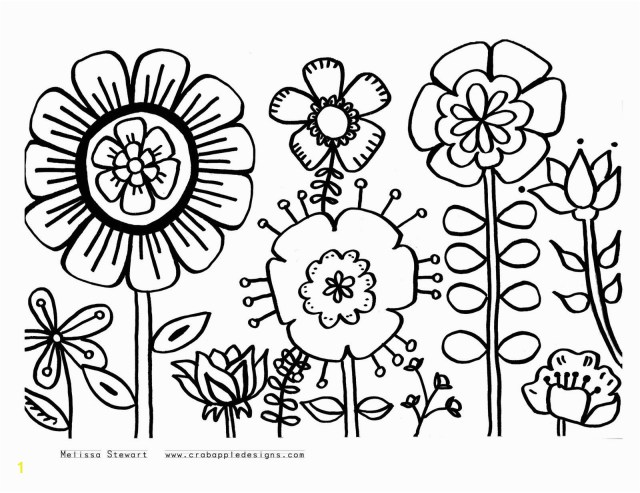 Coloring Pages To Print Flowers Coloring Pages Print Zabelyesayan