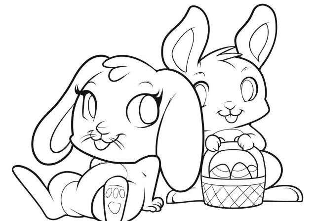 Coloring Pages To Print Frightening Easter Bunny Pages To Colore Printable Coloring Sheets