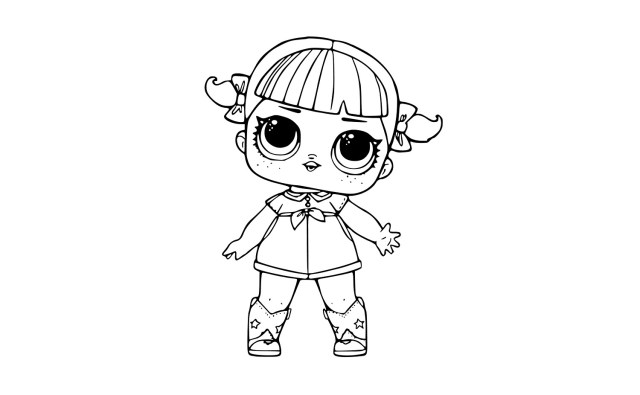 Coloring Pages To Print Lol Surprise Dolls Coloring Pages Print Them For Free All The Series