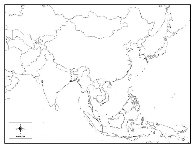 Continents Coloring Page Map Of Asia Coloring Page Impressive Security Continents Continent