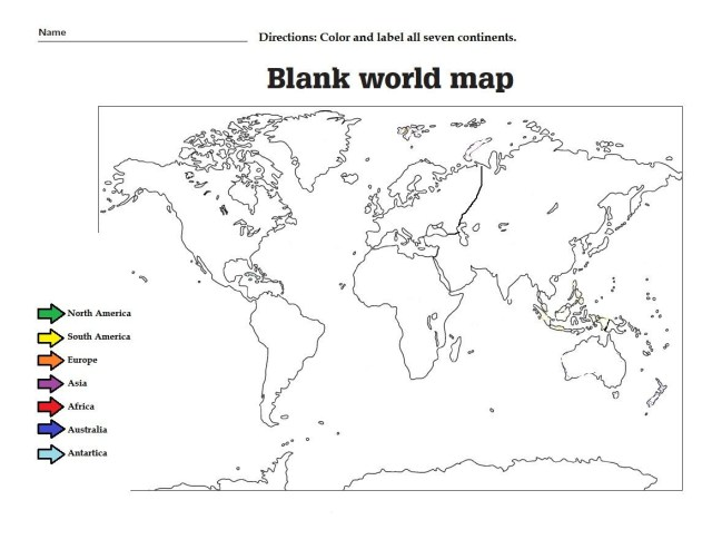 Continents Coloring Page North American Continent Coloring Page Luxury Label The The