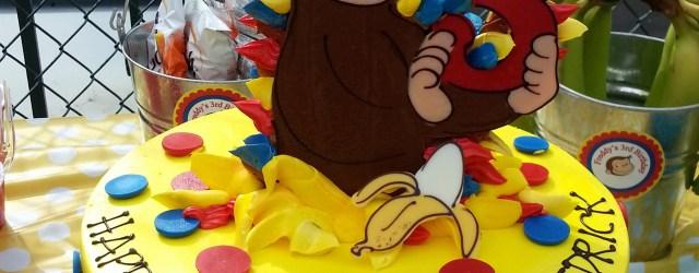 Curious George Birthday Cakes Curious George Birthday Cake Riviera Bakehouse Birthdays