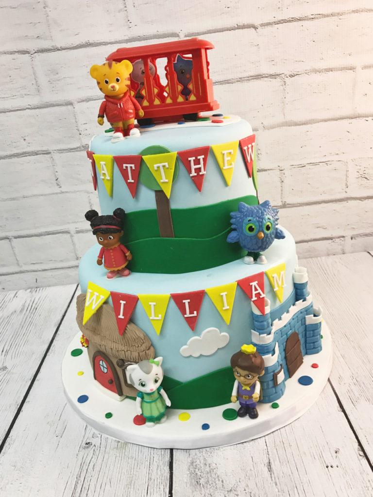 Daniel Tiger Birthday Cake Nashville Sweets Daniel Tiger Birthday ...