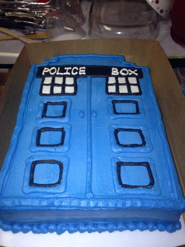 Doctor Who Birthday Cake Dr Who Tardis Cake Cakes Ive Made Pinterest Tardis Cake