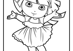 Dora Coloring Page Dora Coloring Pages Diego Coloring Pages