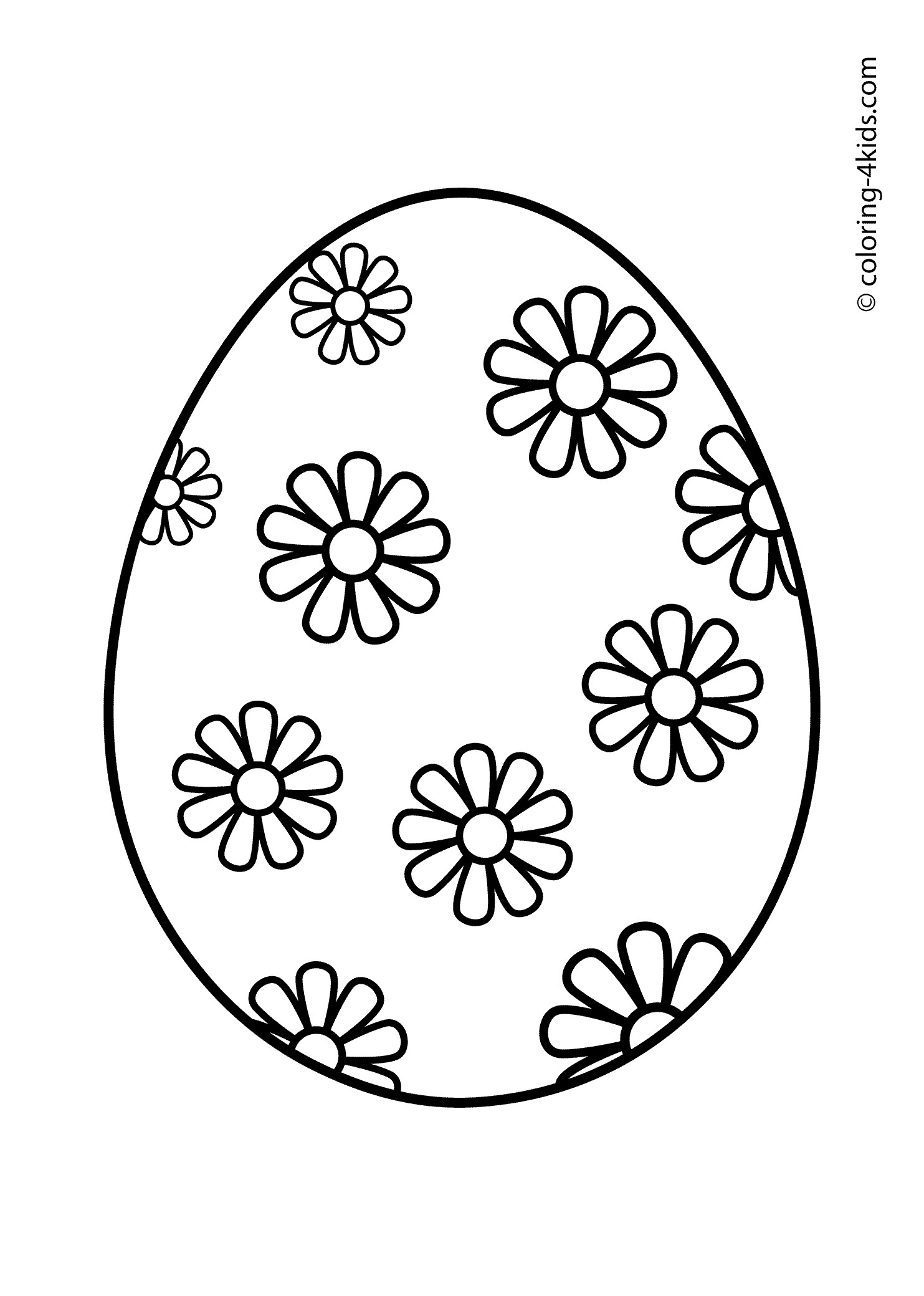 21 Excellent Picture Of Easter Egg Coloring Page Entitlementtraprhentitlementtrap: Butterfly Eggs Coloring Pages At Baymontmadison.com