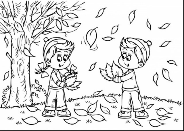 Fall Coloring Page First Day Of Fall Coloring Pages Futurama