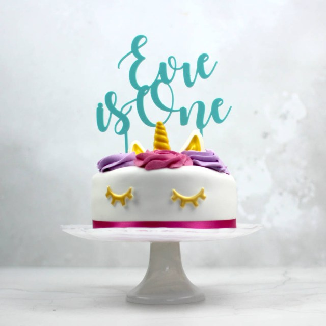 First Birthday Cake Ideas First Birthday Cake Topper Personalised Rocket And Fox