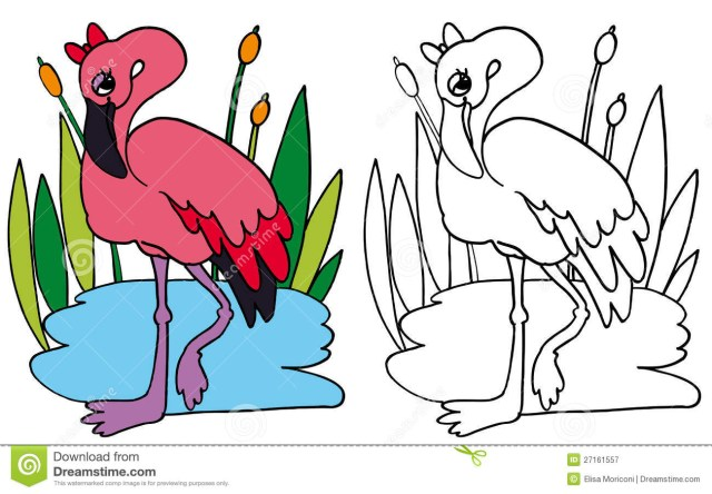 Flamingo Coloring Pages Coloring Pages Flamingo Plasticulture