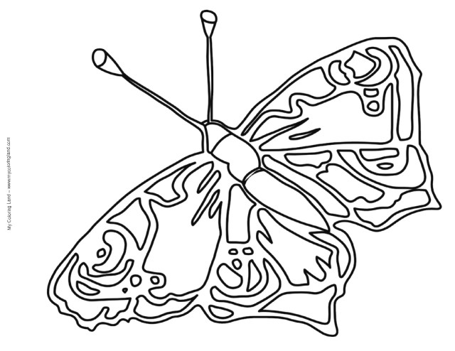 Free Butterfly Coloring Pages Butterfly Coloring Pages Butterfly Coloring Pages For Kids 3